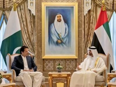 وزیراعظم عمران خان کی شیخ محمد بن زید سے ملاقات، دوطرفہ تعلقات پر بات چیت