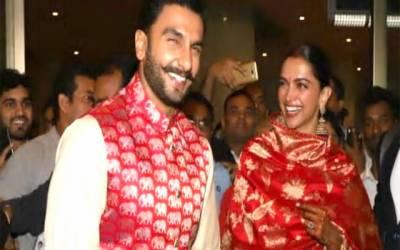 دپیکا اور رنویر کی شادی کے بعد بھارت واپسی، شاندار استقبال