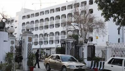 ڈونلڈ ٹرمپ کے پاکستان مخالف بیانات، امریکی ناظم الامور دفتر خارجہ طلب