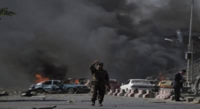 کابل میں مذہبی تقریب کے دوران دھماکے , 40 افراد جاں بحق