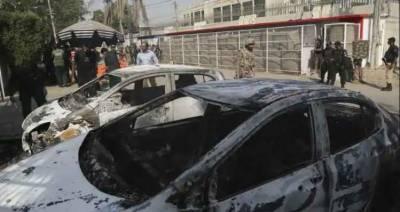 چینی قونصلیٹ حملہ، کراچی اور شہداد پور سے 2 مبینہ سہولت کار گرفتار