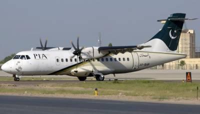 کراچی ایئرپورٹ پر پی آئی اے کے طیارے کو حادثہ