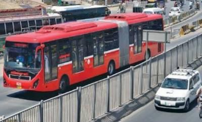 میٹرو بس کے کرایوں میں 10 روپے اضافے کی تجویز