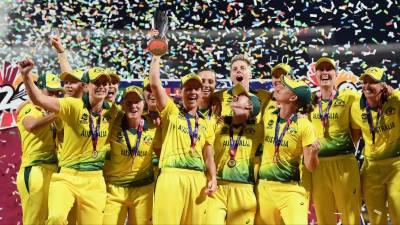 انگلینڈ کو شکست،آسٹریلیا نے ویمنز ورلڈ ٹی20 کے ٹائٹل پر قبضہ جمالیا