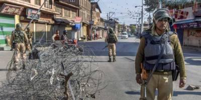 حریت قیادت کی کال پر مقبوضہ کشمیر میں آج مکمل ہڑتال