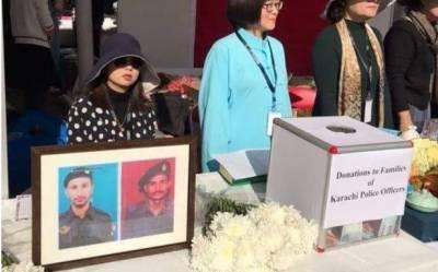 قونصلیٹ حملے میں شہید پاکستانی پولیس اہلکاروں کیلئے چینی شہریوں کی فنڈ مہم