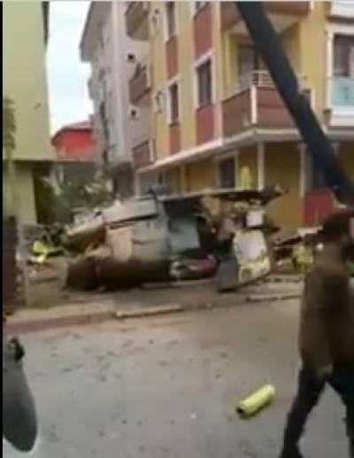 ترک فوجی ہیلی کاپٹر کو حادثہ، چار اہلکار جاں بحق