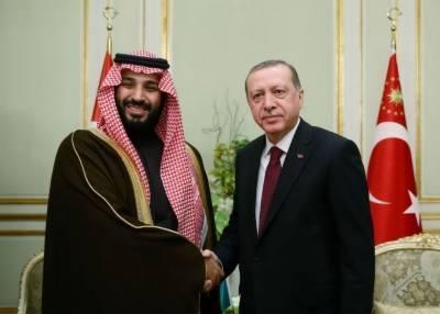 محمد بن سلمان ترک صدر سے ملاقات کے خواہشمند
