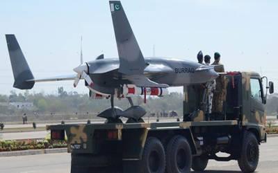 آئیڈیاز 2018: پاکستانی ساختہ ڈرون 'براق' بین الاقوامی مارکیٹ میں متعارف