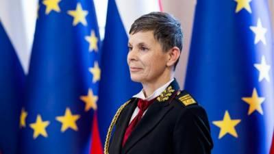 سلووینیا نے میجر جنرل الینکا ارمینس کو ملک کی آرمی چیف مقرر کر دیا