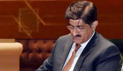 سرکاری اشتہارات میں تصویر چھپوانے پر وزیراعلیٰ سندھ کو چودہ لاکھ پچاس ہزار جرمانہ