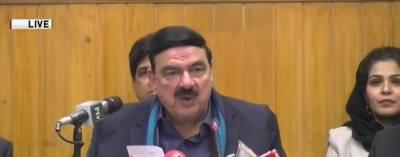 چیف جسٹس پاکستان کے ڈیم فنڈ میں5 کروڑ روپے دیں گے:شیخ رشید