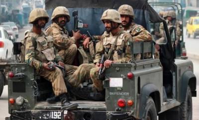 ڈی آئی خان میں سکیورٹی فورسز کی کارروائی،ایک دہشتگرد ہلاک،6 یرغمالی بازیاب