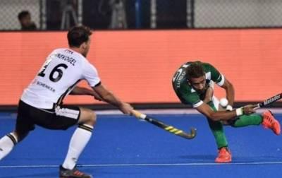 ہاکی ورلڈ کپ میں پاکستان کو پہلے میچ میں جرمنی کے ہاتھوں شکست