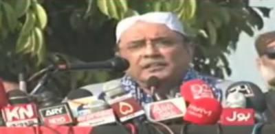 کپتان نے جھوٹے وعدے کئے،زیادہ دن حکومت نہیں سنبھال سکے گا:آصف علی زرداری
