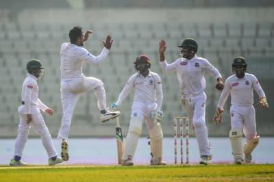 ڈھاکہ ٹیسٹ: ویسٹ انڈیز کو اننگز اور 184 رنز سے شکست،بنگلہ دیش نے وائٹ واش کردیا