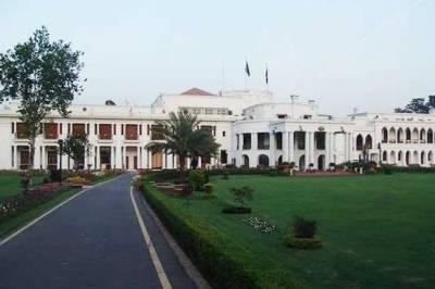 گورنر ہاؤس لاہور کی دیواریں گرانے اور جنگلے اتارنے کا عمل شروع