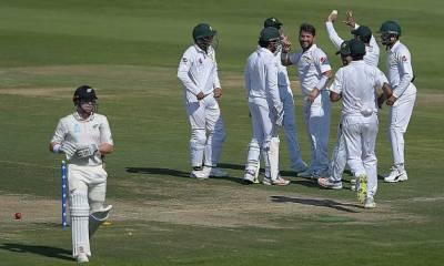 فیصلہ کن ٹیسٹ ،پاکستانی باﺅلروں نے نیوزی لینڈ کے 4 کھلاڑی 73 رنز پر آﺅٹ کردیئے