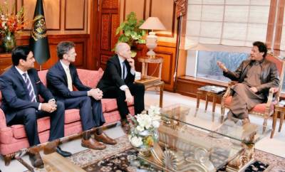 ٹیلی نار کے چیف ایگزیکٹو آفیسر کی وزیراعظم عمران خان سے ملاقات