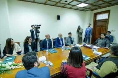 وزیراعظم کی فیس بُک حکام پر مشتمل وفد سے ملاقات، اہم امور پر تبادلہ خیال