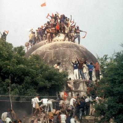 بھارت میں بابری مسجد کی شہادت کو 26 برس بیت گئے