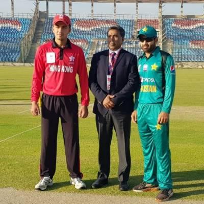 ایمرجنگ ایشیا کپ میں پاکستان نے ہانگ کانگ کو بڑے مارجن سے شکست دیدی