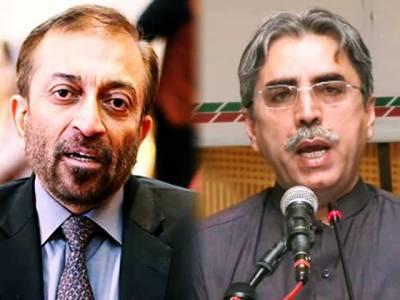 فاروق ستار ایم کیو ایم پاکستان کا نام استعمال کرنا بند کریں، عامر خان