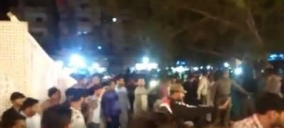 کراچی میں ایم کیو ایم کی محفل میلاد میں دھماکہ ،7 افراد زخمی