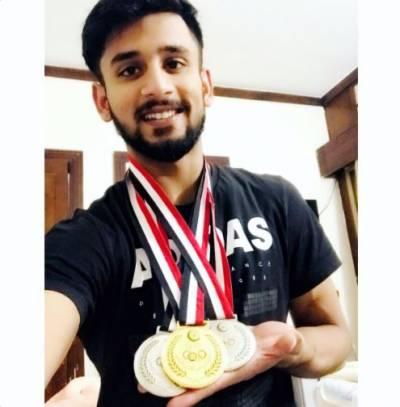 انٹرنیشنل سالیڈیریٹی ویٹ لفٹنگ چیمپئن شپ،طلحہ طالب نے گولڈ میڈل جیت لیا
