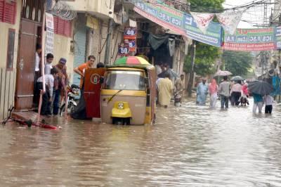 ملک کے مختلف علاقوں میں گرج چمک کے ساتھ بارش کا امکان