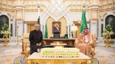 صدر مملکت کی شاہ سلمان سے ملاقات، اہم امور پر تبادلہ خیال