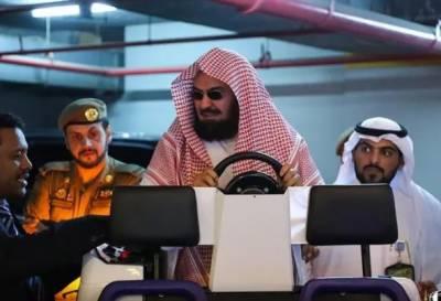 مسجد الحرام اور مسجد نبوی میں معمر افراد کیلئے برقی گاڑیوں کا افتتاح کردیا گیا