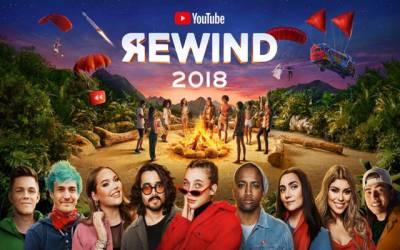 یوٹیوب کی ریوائنڈ 2018 رواں برس کی سب سے زیادہ ناپسندیدہ ویڈیو