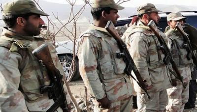 تربت میں دہشت گردوں کے ساتھ مقابلے میں 6 سیکیورٹی اہلکار شہید