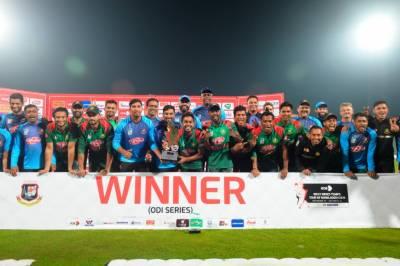 بنگلہ دیش نے آخری ون ڈے میں ویسٹ انڈیز کو 8 وکٹوں سے شکست دے دی