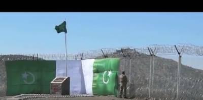 پاک افغان سرحد پر 802 کلو میٹر باڑ نصب، 233 قلعوں کی تعمیر بھی مکمل، ڈی جی آئی ایس پی آر