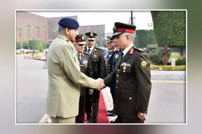 آرمی چیف کا دورہ مصر،ہم منصب سمیت وزیردفاع سے ملاقات