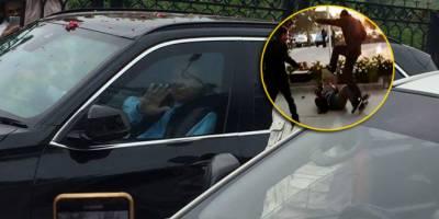 نواز شریف کے سکیورٹی گارڈ نے کیمرہ مین پر تشدد کیوں کیا ؟