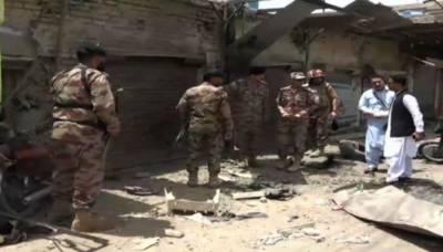 چمن میں کریکر دھماکا، قبائلی رہنما سمیت 3 افراد زخمی