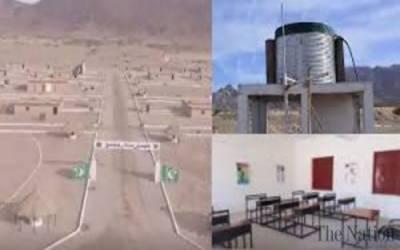 پاک فوج نے دو ہزار تیرہ کے زلزلہ متاثرین کو گھروں ، دکانوں کی فراہمی شروع کر دی