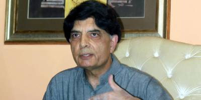پاکستان کی سیاست میدان جنگ کا نقشہ پیش کررہی ہے، چوہدری نثار