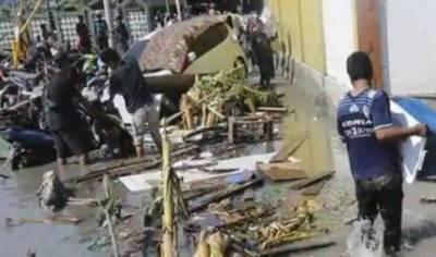 انڈونیشیا میں سونامی سے تباہی، 43 افراد ہلاک، 600 سے زائد زخمی