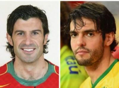 شائقین فٹبال کیلئے بڑی خوشخبری،ریکارڈو کاکا اور لوئس فیگو جنوری میں پاکستان آئیں گے