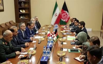 ایران نے افغانستان میں قیام امن کے لیے طالبان سے مذاکرات کا اعلان کر دیا