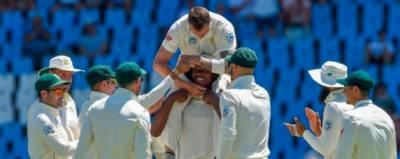 جنوبی افریقن ٹیم کی پہلی اننگز اختتام پذیر ہو گئی