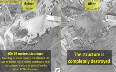 اسرائیل جنگی طیاروں کی ایرانی سرحد کے قریب دہشتگردوں کے مشتبہ ٹھکانوں پر فضائی بمباری