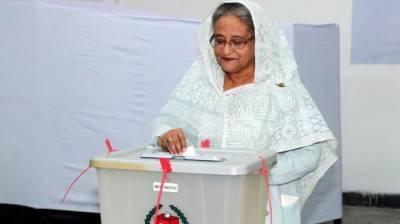 بنگلہ دیش کے انتخابات میں حسینہ واجد فاتح