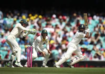 سڈنی ٹیسٹ پہلا روز،بھارت کے آسٹریلیا کیخلاف 4 وکٹ پر 303 رنز