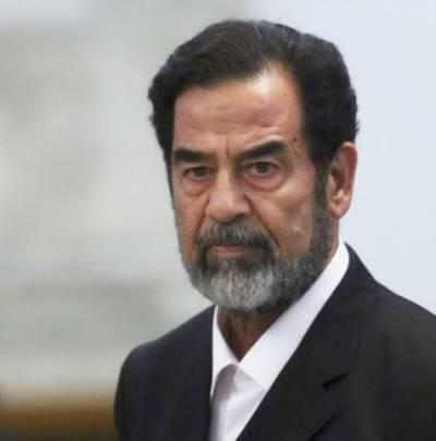 امریکی فوج کے محافظ صدام حسین کو سزائے موت سے قبل آخری الوداع پر رو دیئے تھے