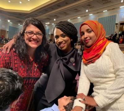 امریکی کانگریس میں تاریخ رقم،2 مسلم خاتون اراکین نے قران پاک پرحلف اٹھا لیا